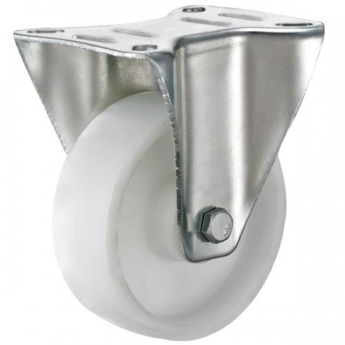 Top-plate rubber wheel caster-Swivel/Fix/Break